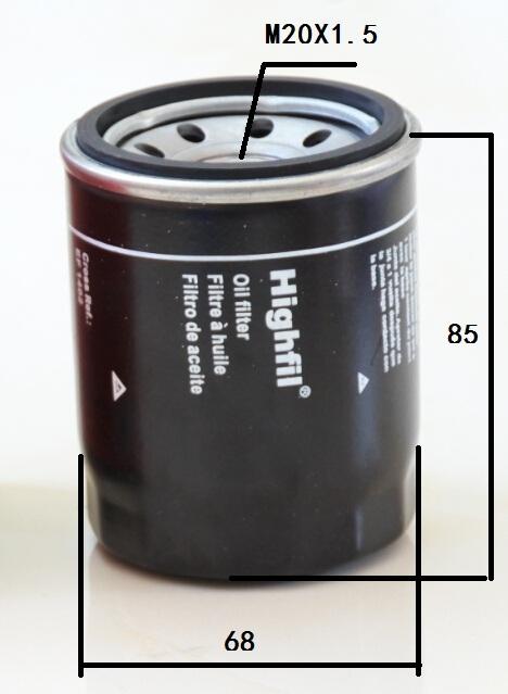 Mann-Filter w67//1 Filtre à huile pour MAZDA